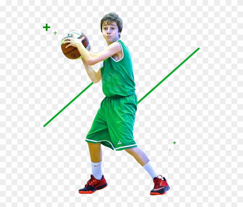 Baloncesto - Niño Baloncesto Png Clipart #4274382