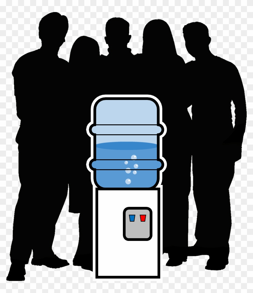 Resolution - Meeting At The Water Cooler Clipart #4278297