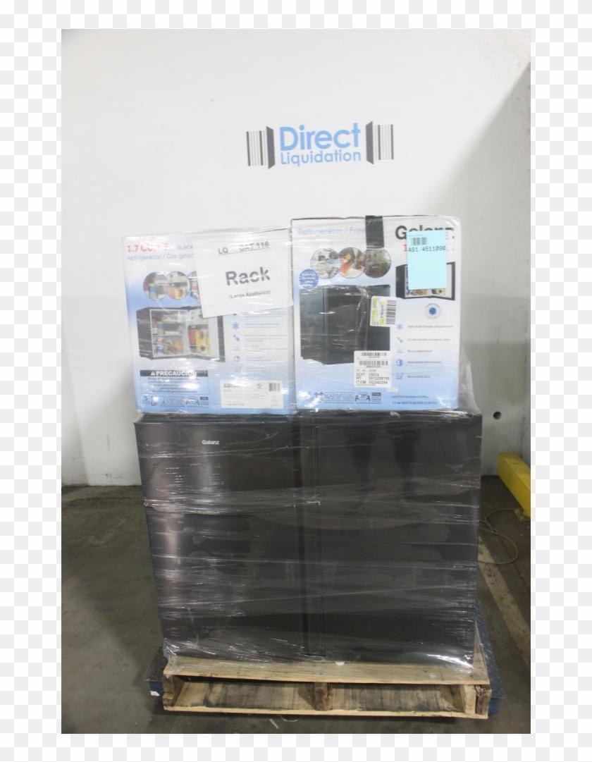 Pallet 8 Pcs Bar Refrigerators & Water Coolers Customer - Liquidation Clipart #4278997