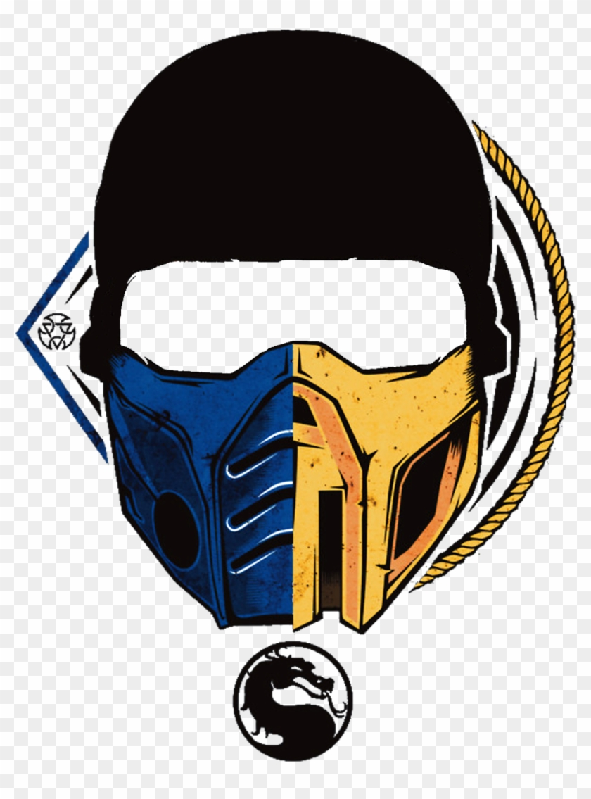 Mortal Kombat Scorpion Photo Scorpion And Sub Zero Mask Clipart