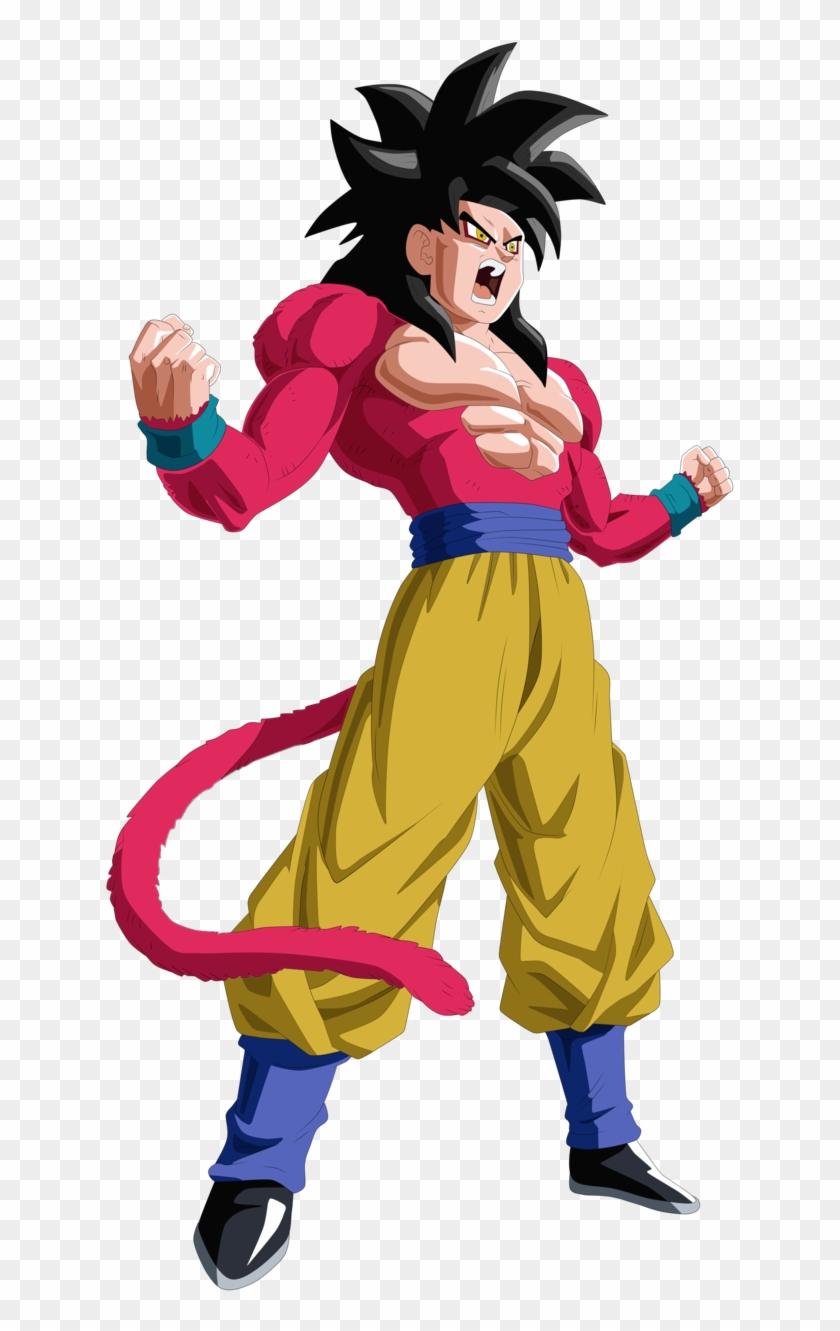 Goku Ssj4 Png Clipart #4282239