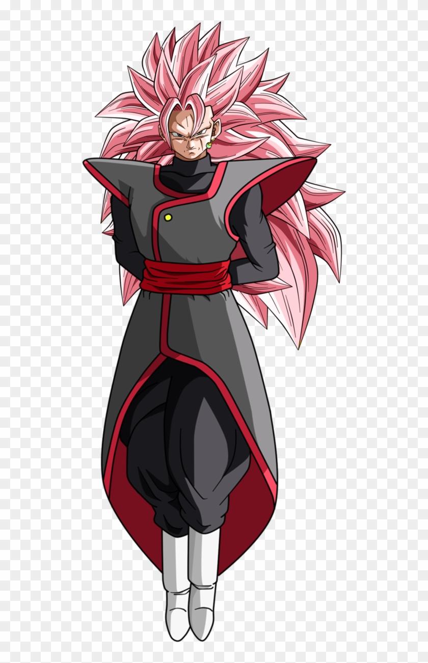 Dark Ssj4 Broly Png - Goku Black Ssj3 Rose Clipart #4283489