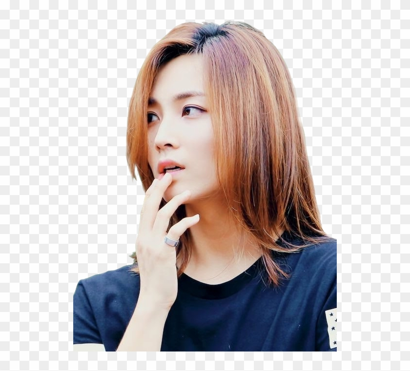 Jeonghan Sticker - Yoon Jeonghan Long Hair Clipart@pikpng.com