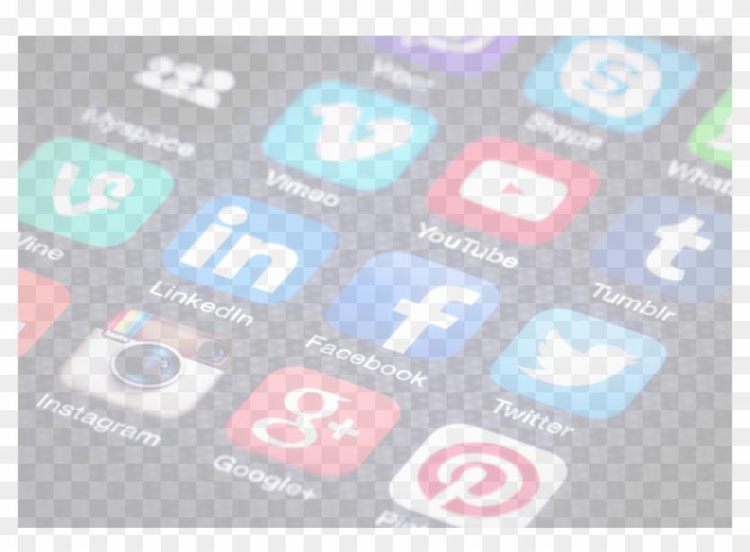Hero Social Icons - Many Social Media Accounts Do You Have Clipart #431430