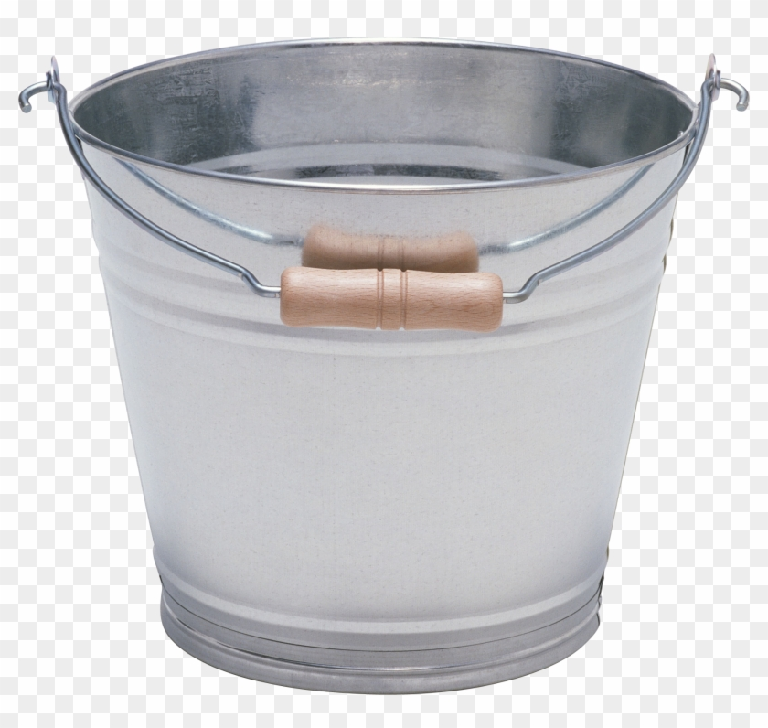 Iron Bucket Png Image - Transparent Background Bucket Png Clipart #432344