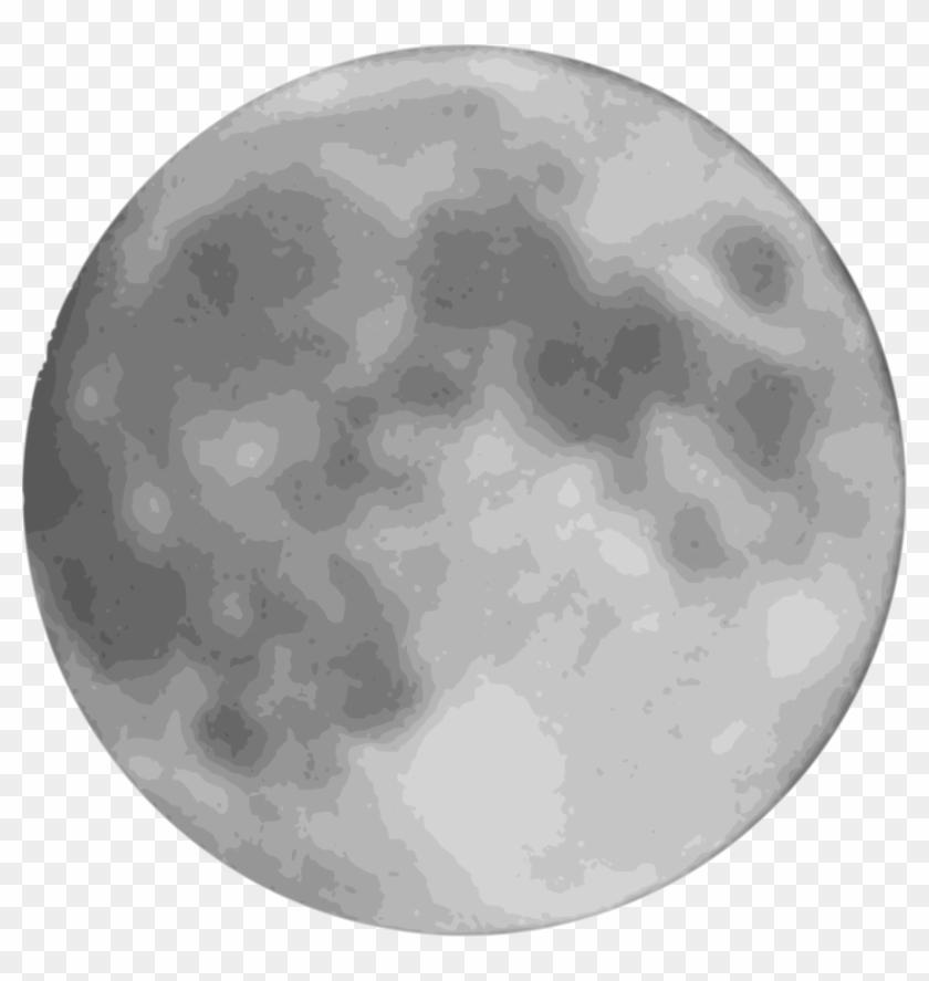 Full Moon Clipart Png - Full Moon Cartoon Png Transparent Png #433392