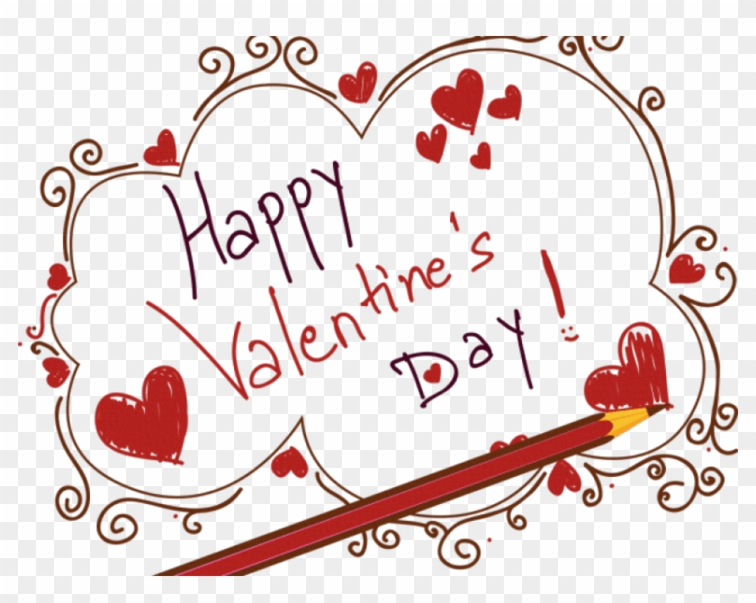 Happy Valentine's Day Png Transparent Images - Valentine's Day Art Png Clipart #435051