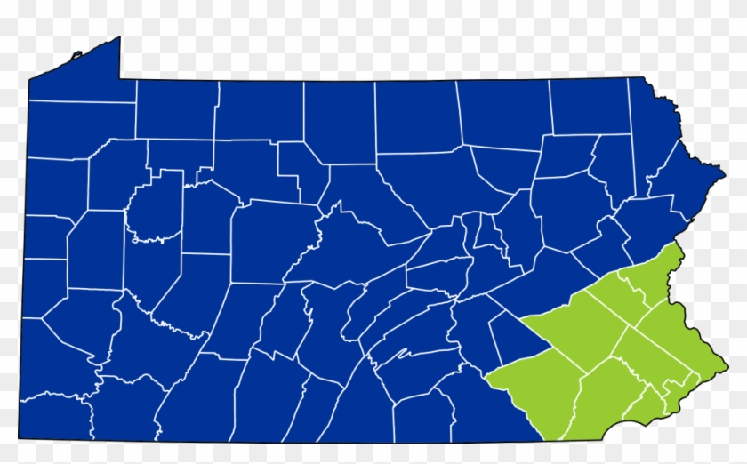 New York District Court Map Path Decorations Pictures - Pennsylvania County Election Results 2012 Clipart #436209