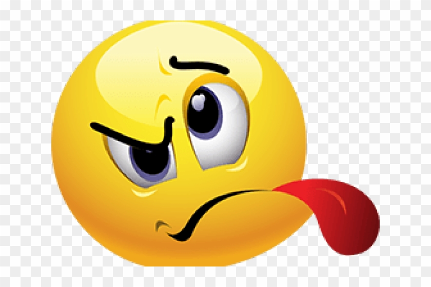 Face With Tongue Sticking Out - Angry Tongue Out Emoji, HD Png Download #437757