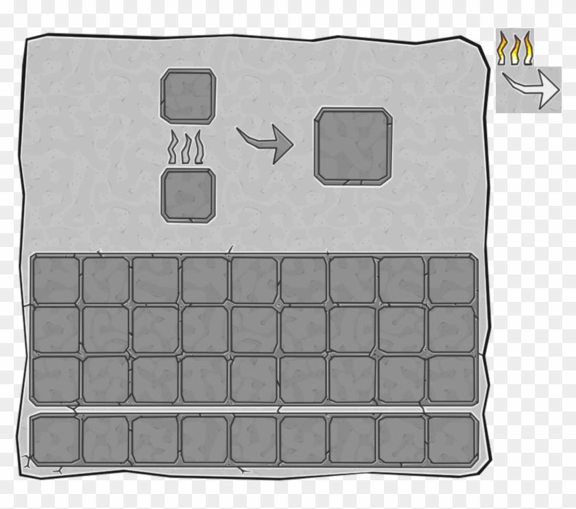 Furnace - Minecraft Furnace Gui Texture Clipart #4306369