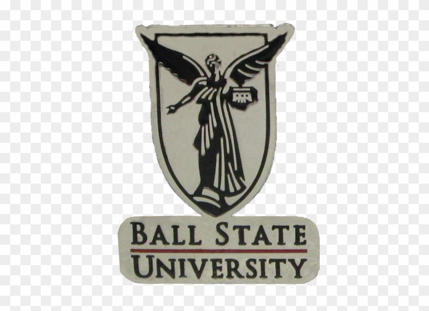 Beneficence Logo Lapel Pin - Ball State University Seal Clipart #4313494