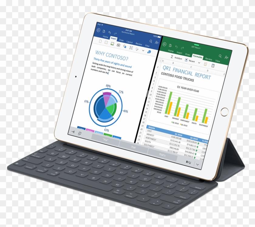 Apple Ipad Pro 9-7 - Ipad 9.7 Size Comparison Clipart #4316656