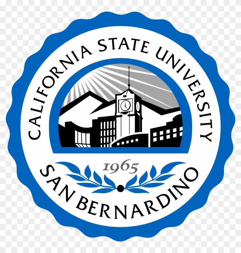 California State University San Bernardino Logo Clipart #4320619