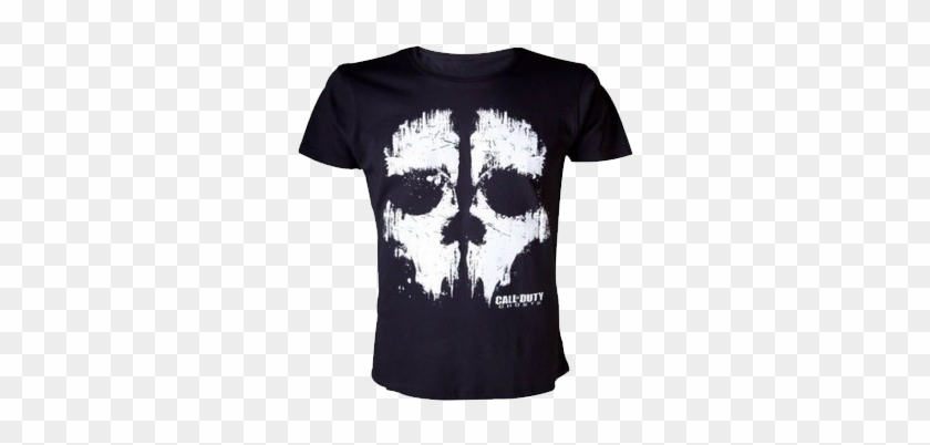 Camiseta Del Famosisimo Videojuego De Acción, Call - Call Of Duty Shirt Clipart #4321502