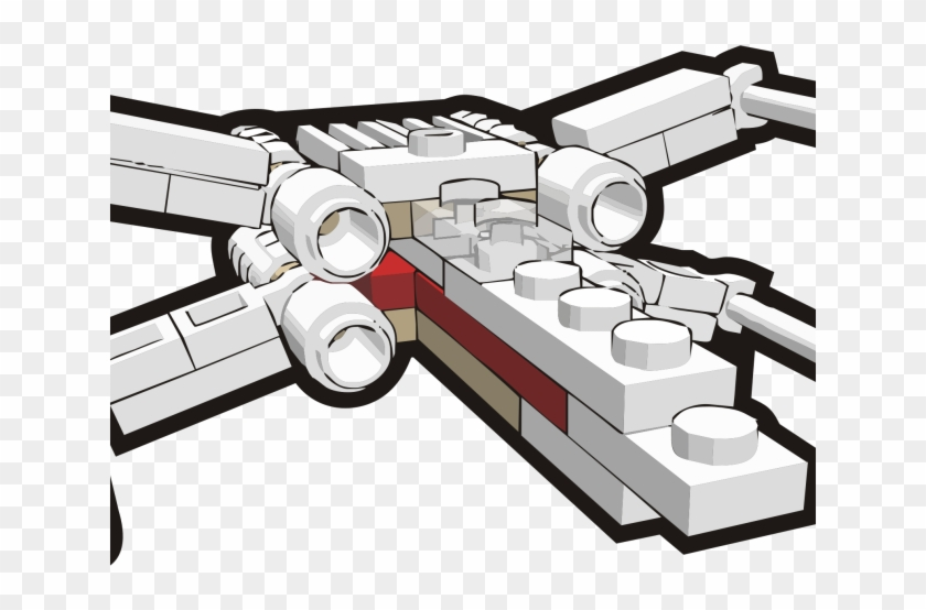 Star Wars Clipart Icon - X-wing Starfighter - Png Download #4323759