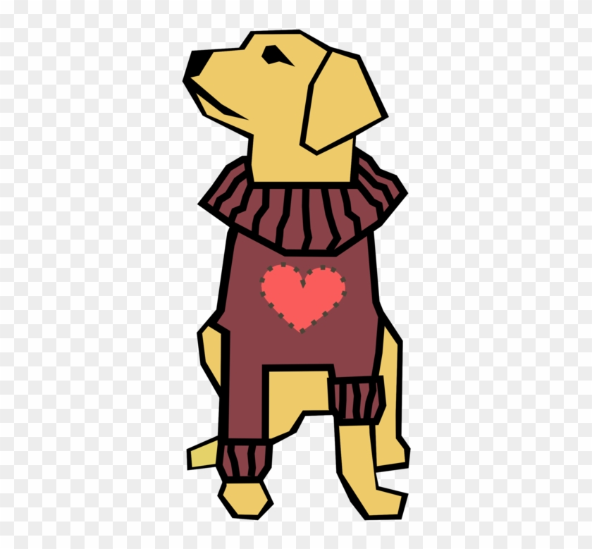 Dog Puppy Line Art Valentine's Day Computer Icons - Drawings With Straight Lines Clipart #4323961