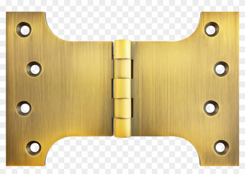 4 4 6 Inch Parliament Hinge Antique Brass Heritage - Plywood Clipart #4348580