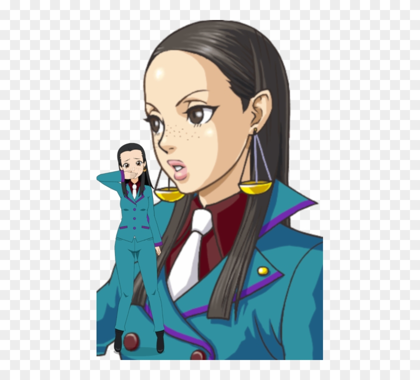 Spnati Ace Attorney Investigations Characters Clipart 4364737 Pikpng