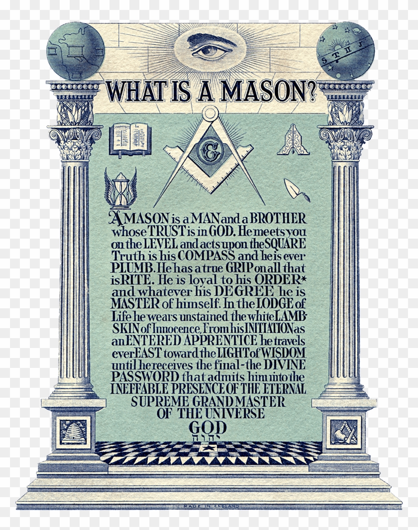 What Is A Mason - Do You Become A Freemason Clipart #4369421
