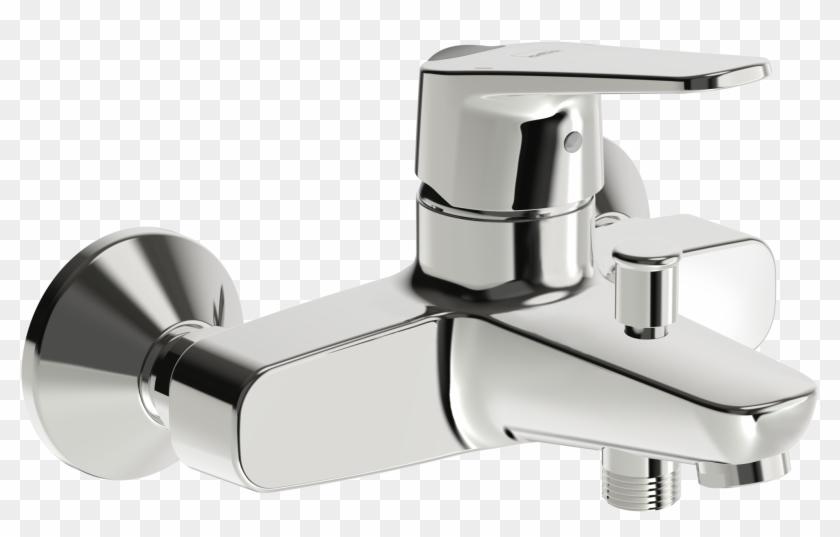 Bath And Shower Faucet, - Tap Clipart #4370871