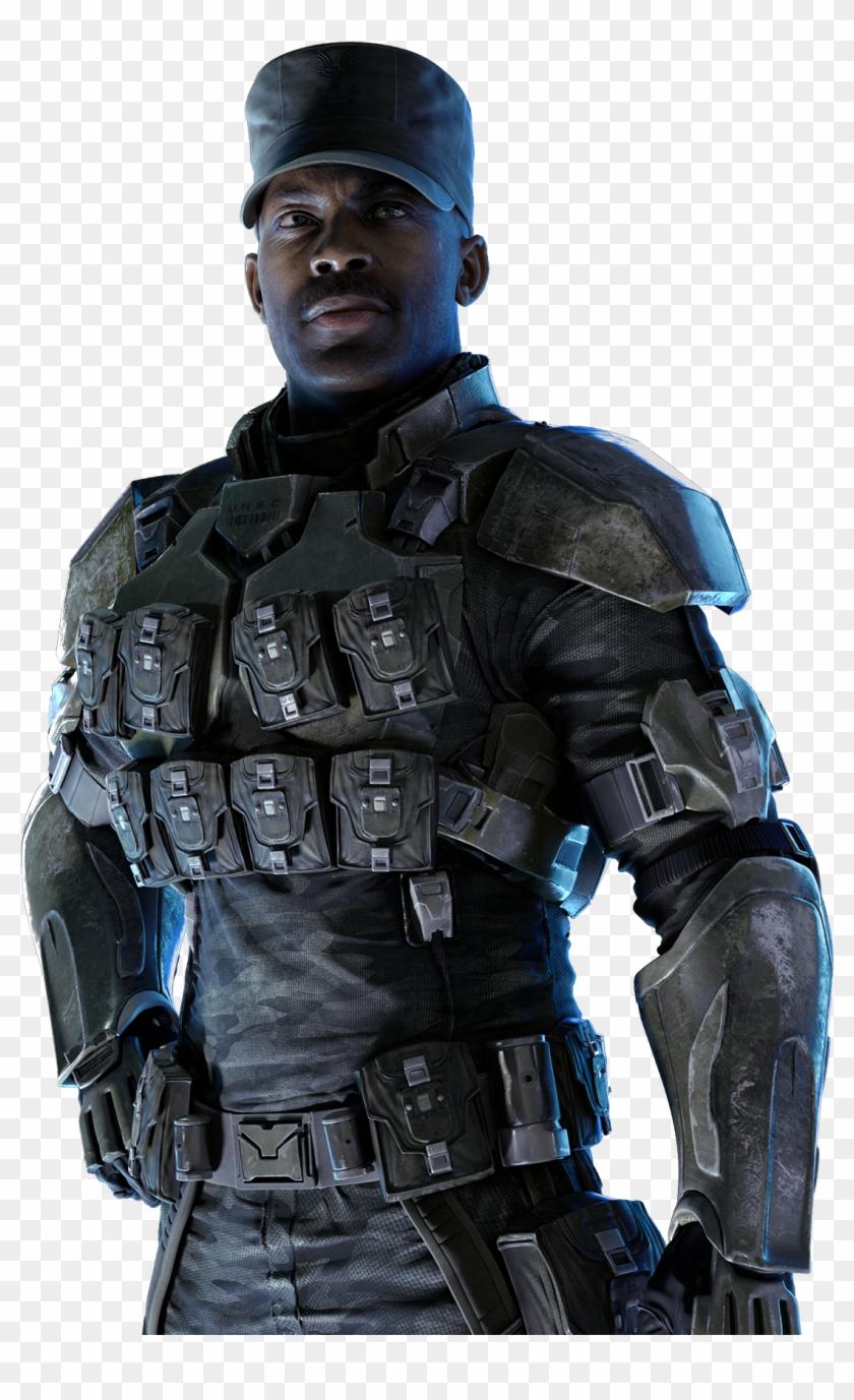 Avery Johnson - St Johnson Halo 3 Clipart #4377118