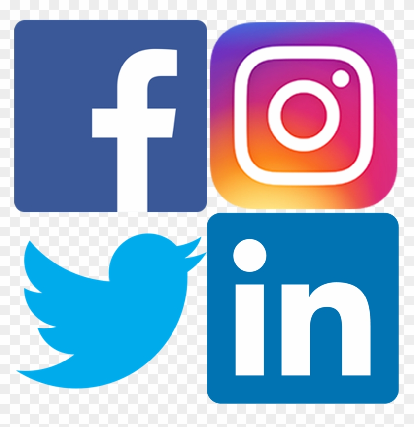 Like Our Facebook Page Here To Stay Up To Date With - Facebook And Instagram Logo Png Clipart #4381078