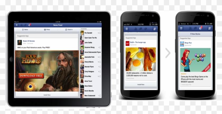 Facebook Sponsored Ads Mobile Clipart #4392417