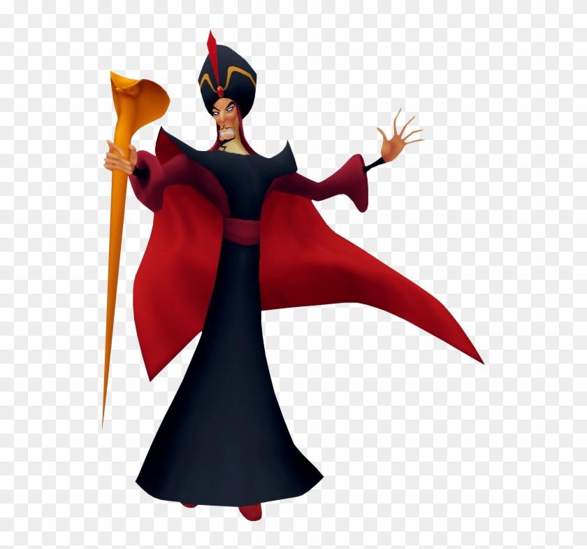 Graphic Royalty Free Download Aladdin Transparent Kingdom - Disney Kingdom Hearts Jafar Clipart #442417