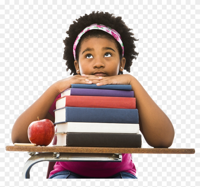 Student 4 - African American Elementary Students Clipart #442418