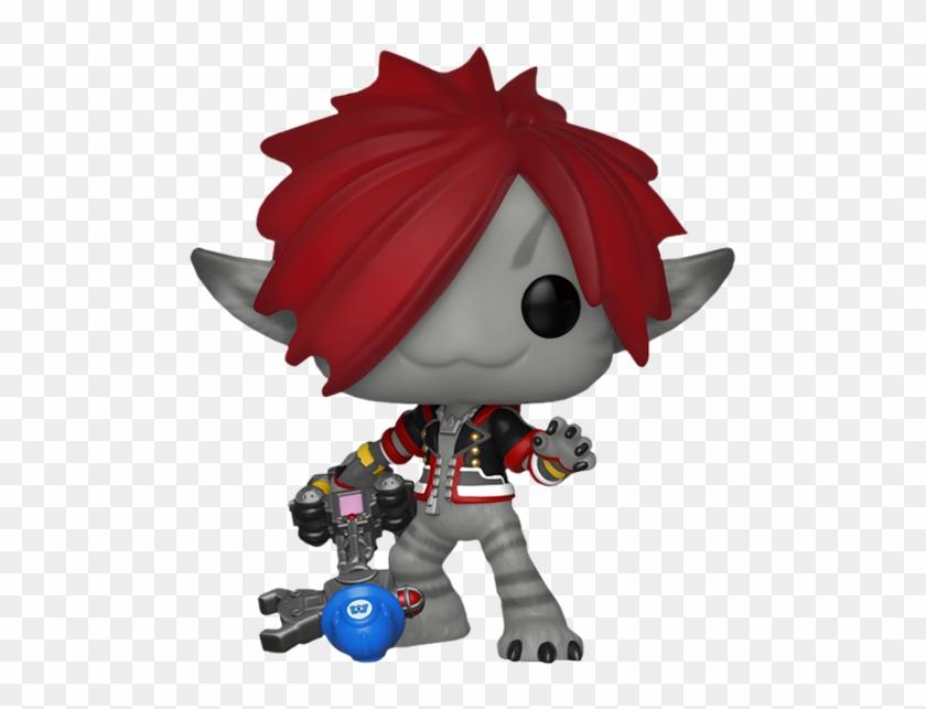 Kingdom Hearts - Monsters Inc Sora Funko Pop Clipart #442725