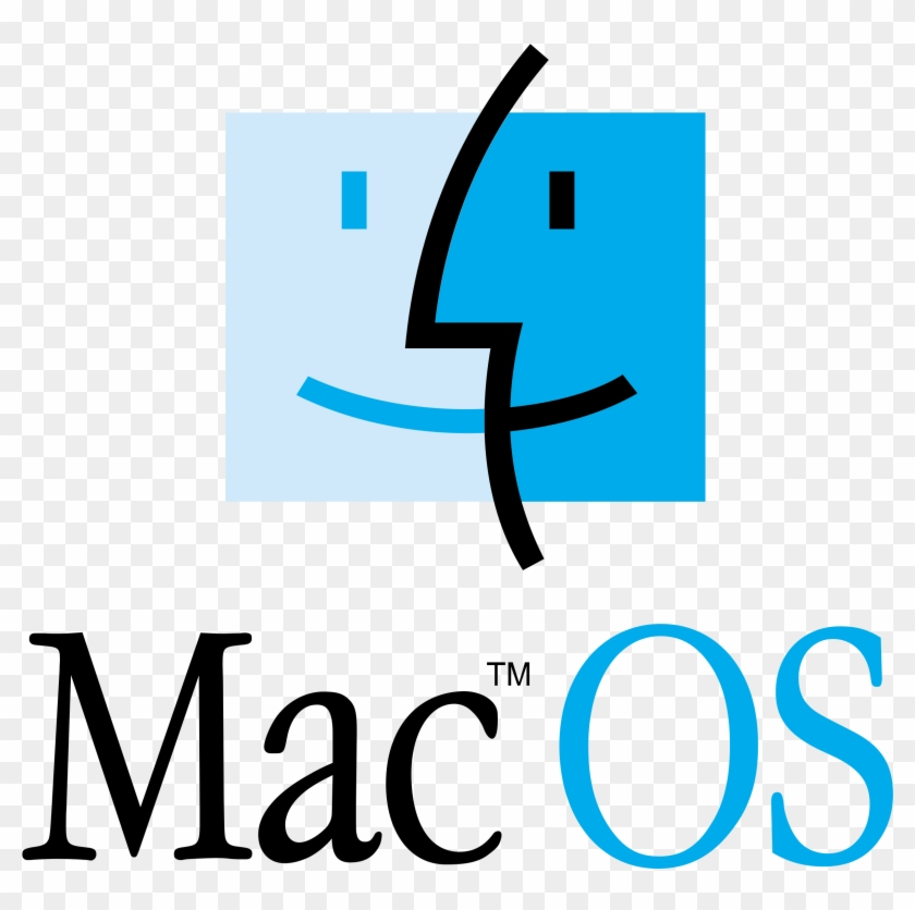 Mac Os Logo Png Transparent - Logo De Mac Os Clipart #442805