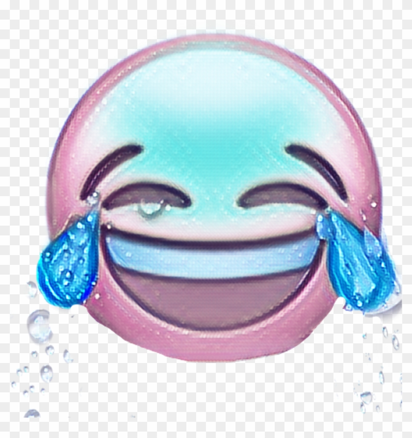 Face With Tears Of Joy Emoji Clipart #443227