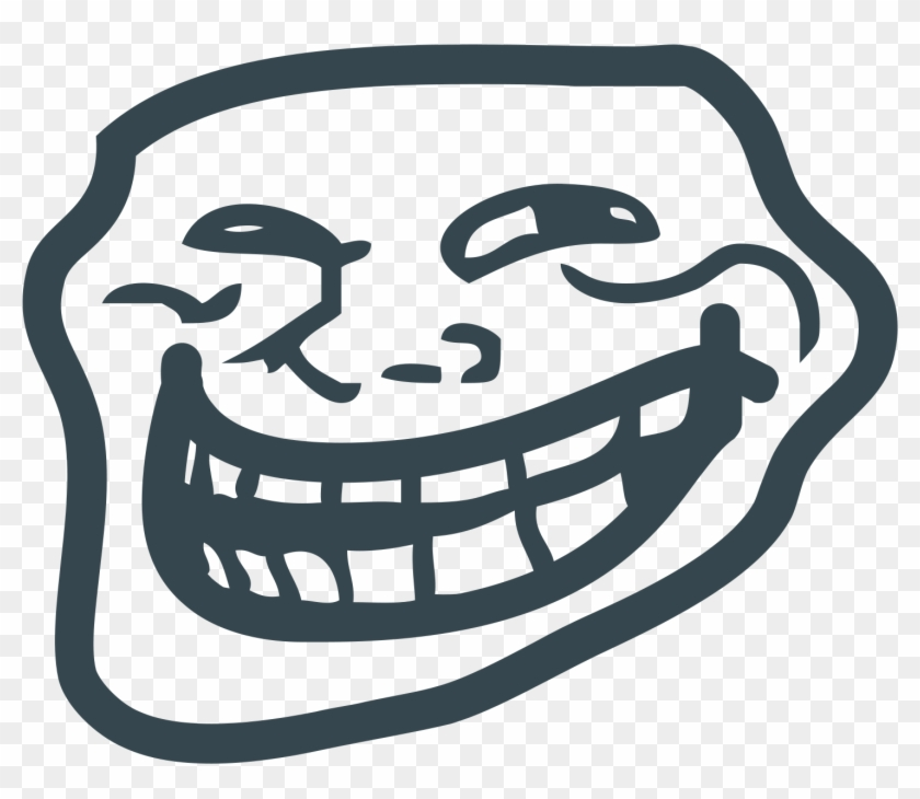 Trollface Clipart Png - Troll Face 1080p Transparent Png #443626