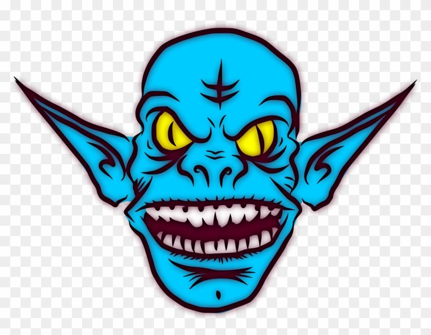 Goblin Internet Troll Computer Icons Trollface - Goblin Face Png Clipart #443934