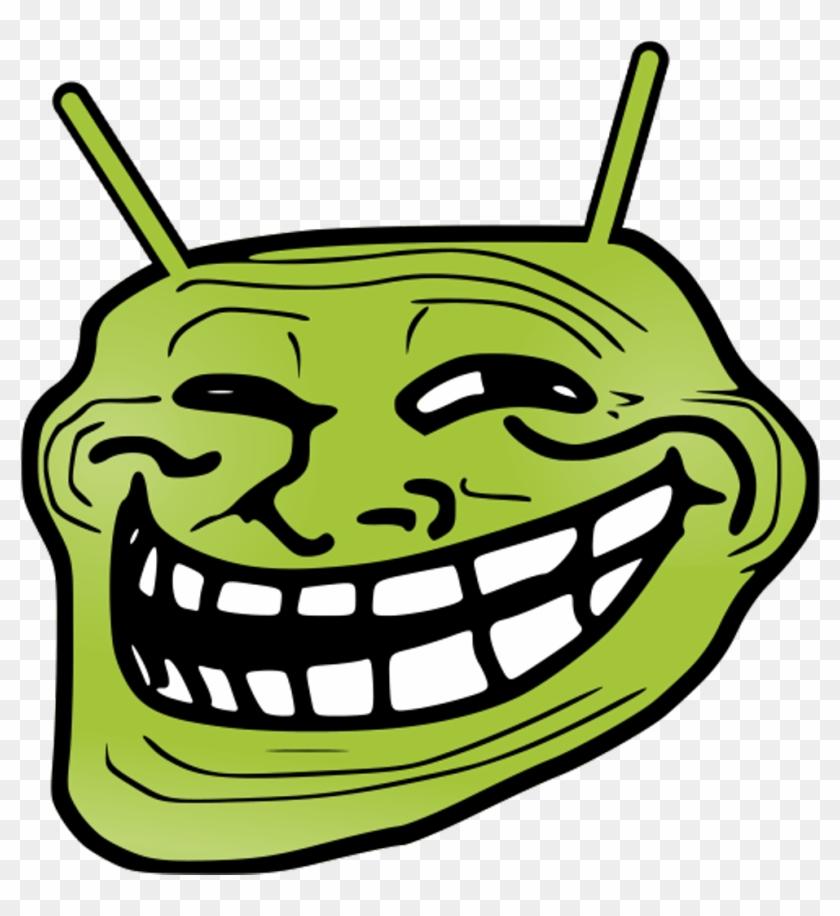 Annoying Orange Troll Face Clipart #444027