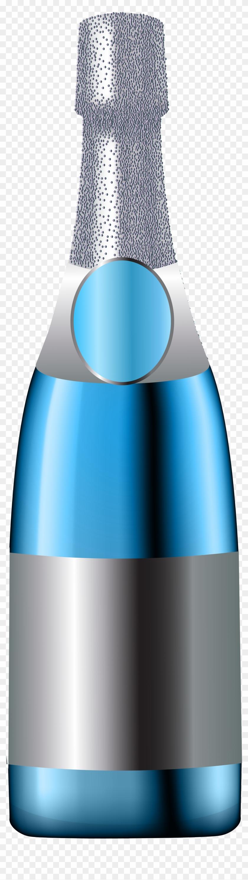Free Transparent Champagne Bottle Clipart #444639