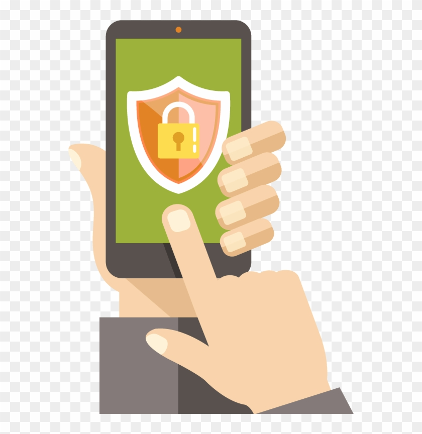 Bics' Sms Firewall Solution Provides Mobile Operators - Drawing On Mobile Security Clipart #4403382