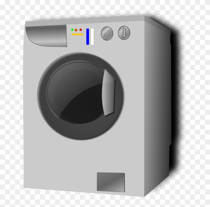 Washing Machines Pressure Washers Laundry Clothes Dryer - Washing Machine Vector Png Clipart@pikpng.com
