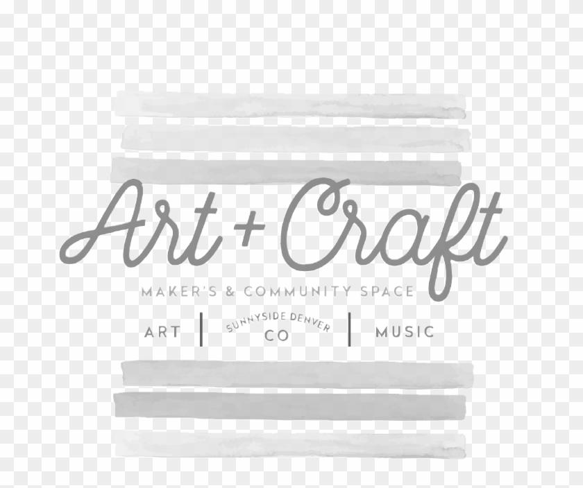 Art Craft Logo Design Courtney Oliver Freelance Design - Calligraphy Clipart #4404676
