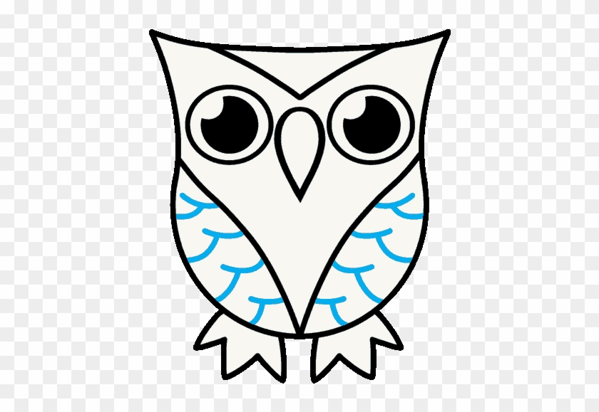 How To Draw A Cartoon Owl In A Few Easy Steps Easy - Draw Owl Clipart #4409205