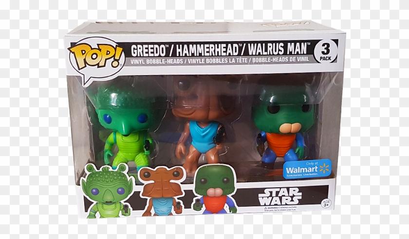 Walmart exclusive! Star Wars Greedo//Hammerhead//Walrus Man