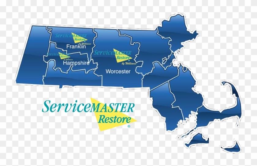 Water Damage Restoration Worcester Ma, Fire Damage - Massachusetts Clipart - Png Download #4424989