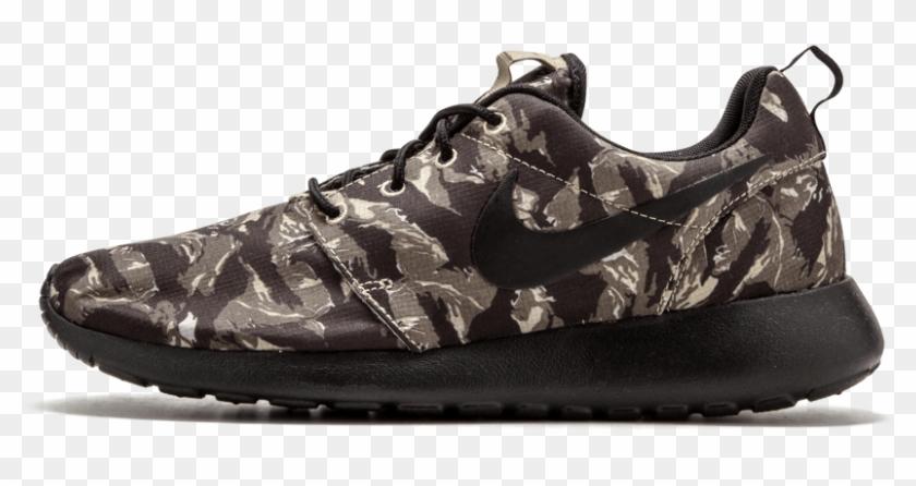 Nike Roshe Run Print Running Shoes - Sneakers Clipart #4433366