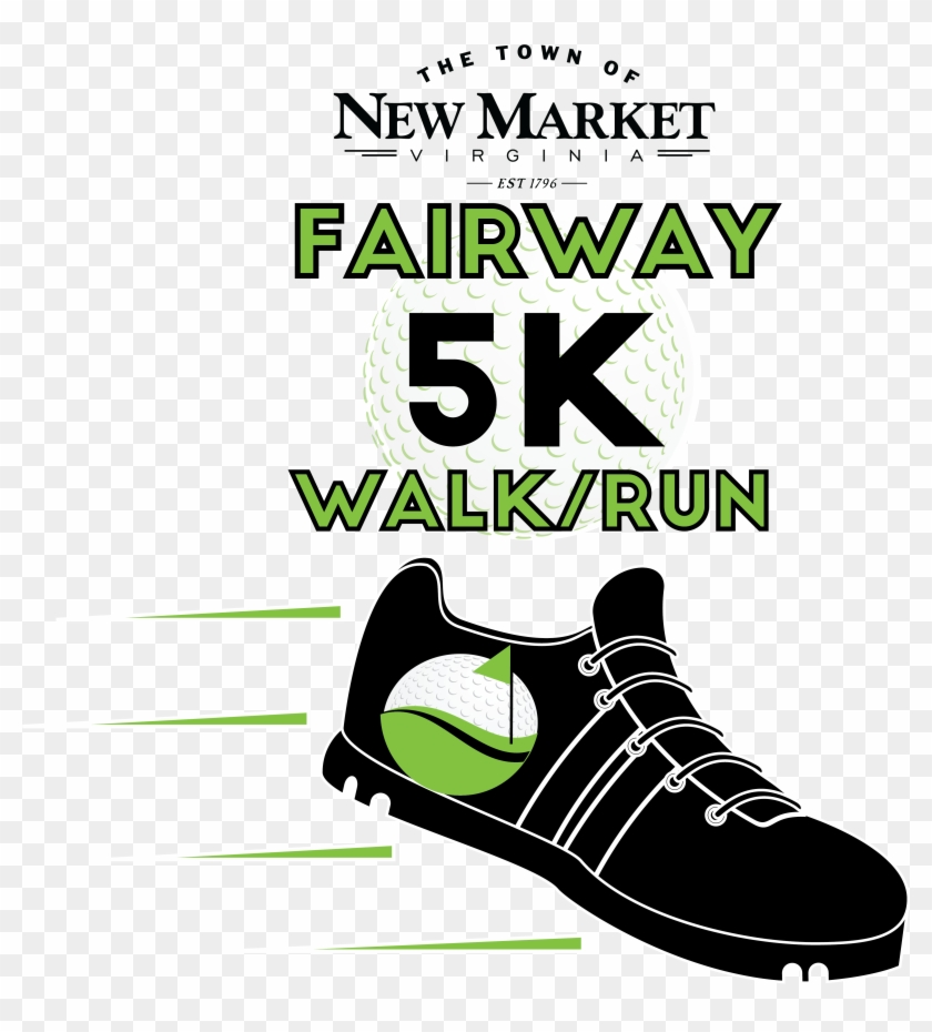 New Market 5k Run Transparent Background - Sneakers Clipart #4433616