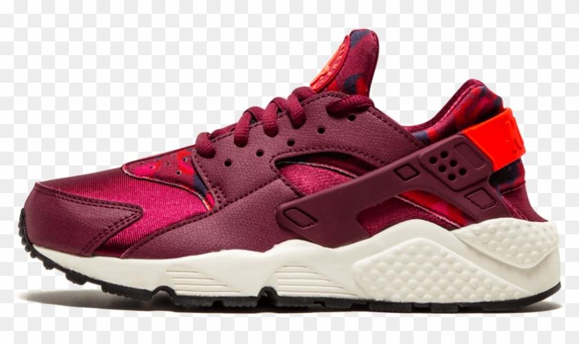 Nike Air Huarache Run Print Running Shoes - Nike Huarache Türkiye Bayan Clipart #4433652