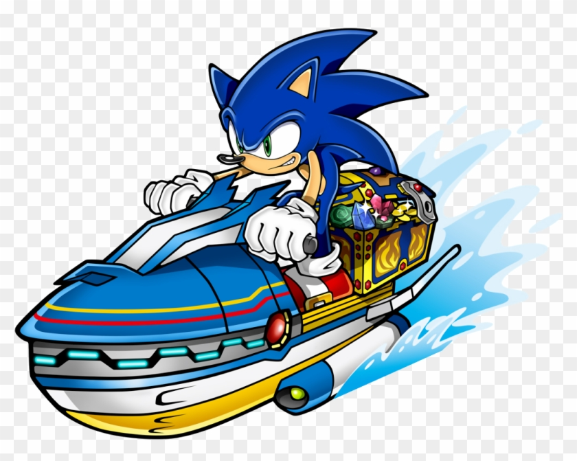 Treasure Chest - Sonic Rush Adventure Png Clipart #4434196