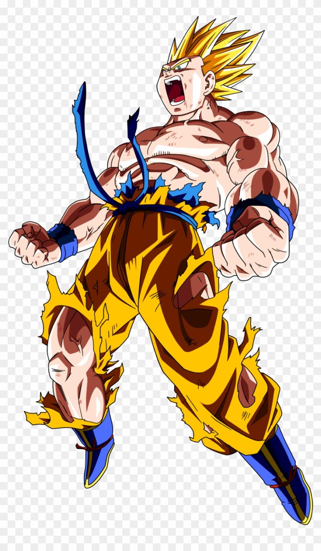 Dragon Ball Z Goku Ssj Clipart #4434982