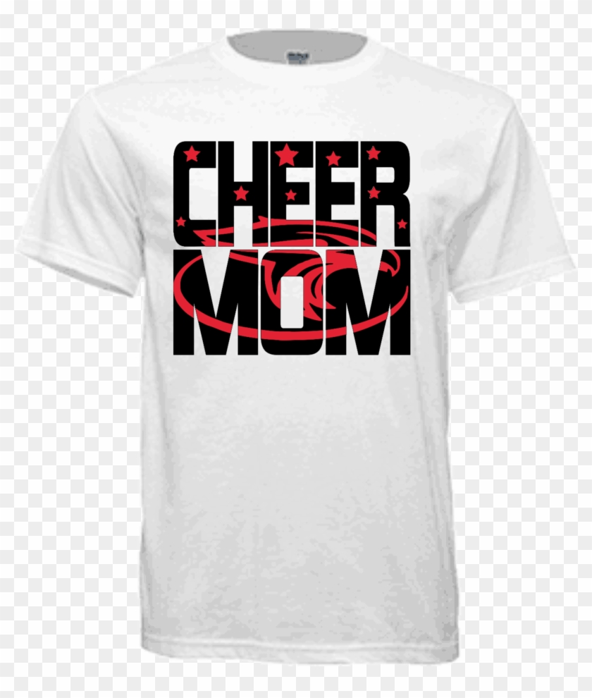 Home / Family Shirts / Cheer Mom Knock-out Shirt - Active Shirt Clipart #4435493