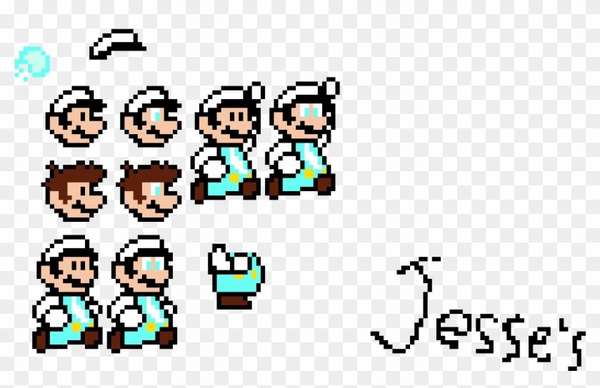 Jesse S Custom Ice Mario Sprites Cartoon Clipart 4437062 Pikpng