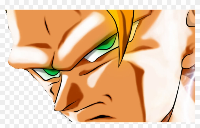 Goku Ssj3 Face , Png Download - Goku Ssj3 Face Clipart #4437954